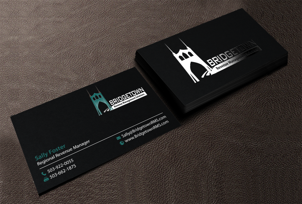 Playful, Modern Business Card Design for Bridgetown Revenue ...