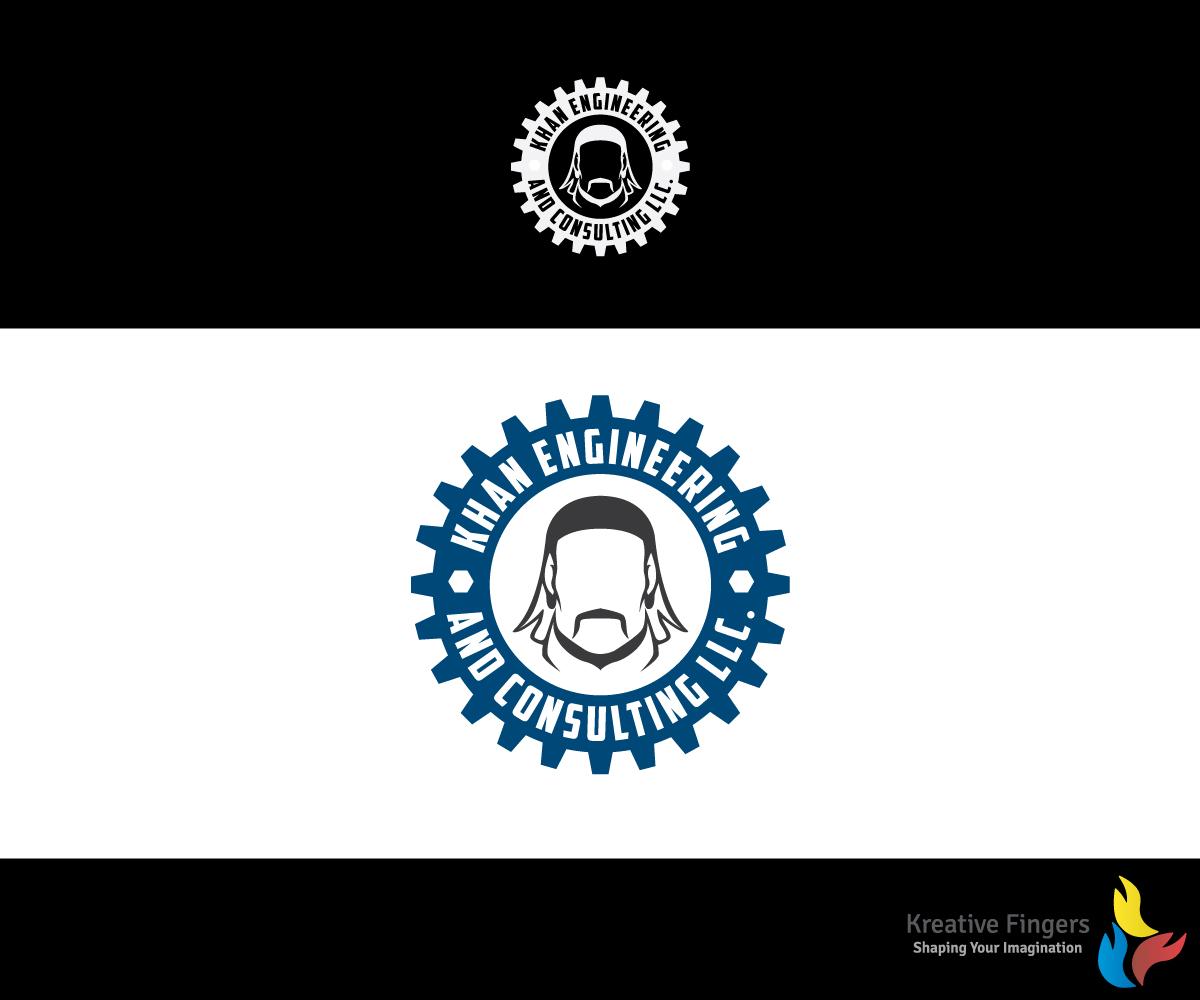 Bold modern logo design for brian hymel by kreative fingers logo design by kreative fingers for genghis khan stylized logo design design 11364648 biocorpaavc Images