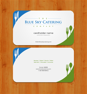 33 professional business card designs for a business in united states business card design design 2327565 submitted to catering company needs business cards reheart Image collections