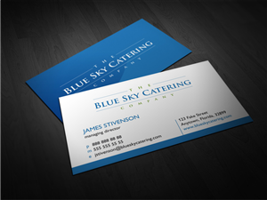 33 professional business card designs for a business in united states business card design design 2328480 submitted to catering company needs business cards reheart Image collections