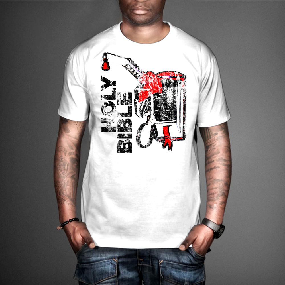 Modern bold religious t shirt design for a company by for Company t shirt design inspiration