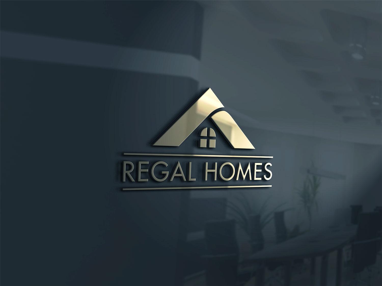 Logo Design By HumairCSE For Regal Homes   Custom Design Builder Needs  Modern Logo   Design