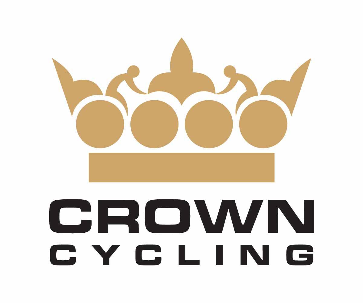 elegant conservative clothing logo design for crowncycling by art rh designcrowd com Sports Clothing and Apparel Logos Red Clothing and Apparel Logos