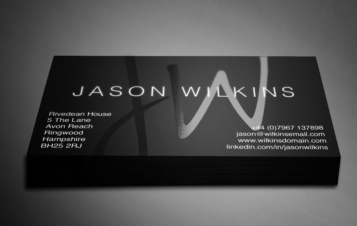 Amazing Personal Business Card Designs Contemporary - Business ...
