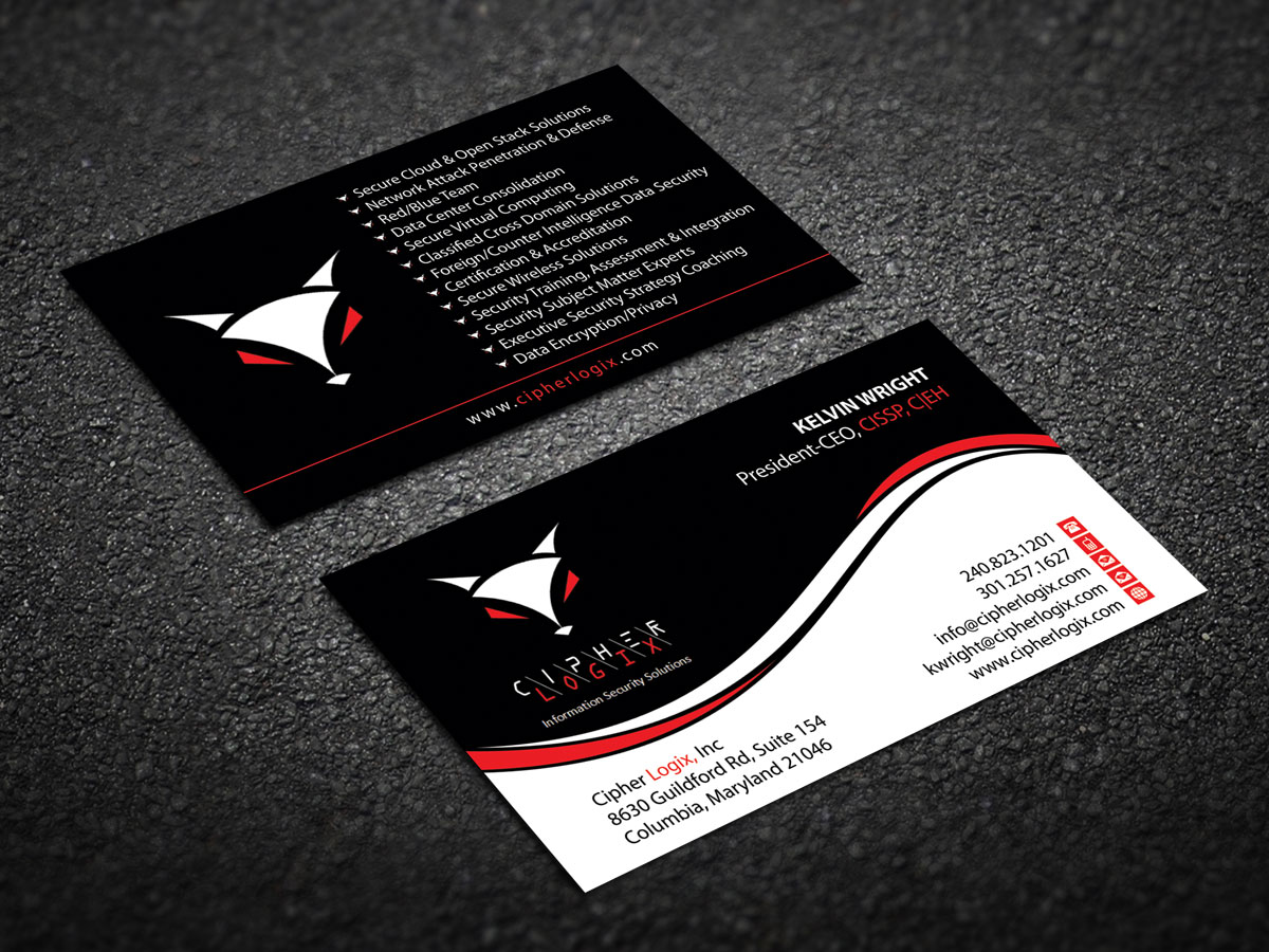 Serious modern business business card design for a company by business card design by alpesh9520 for this project design 11416180 reheart Images