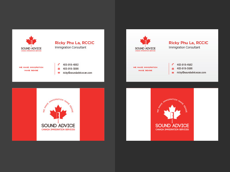 Serious, Modern, Consulting Logo and Business Card Design for Sound ...