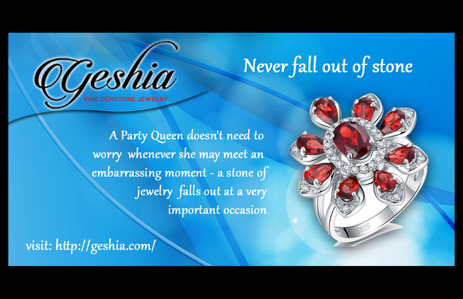Jewelry Banner Ad Design For Geshia Group Inc By Shijo Cochin