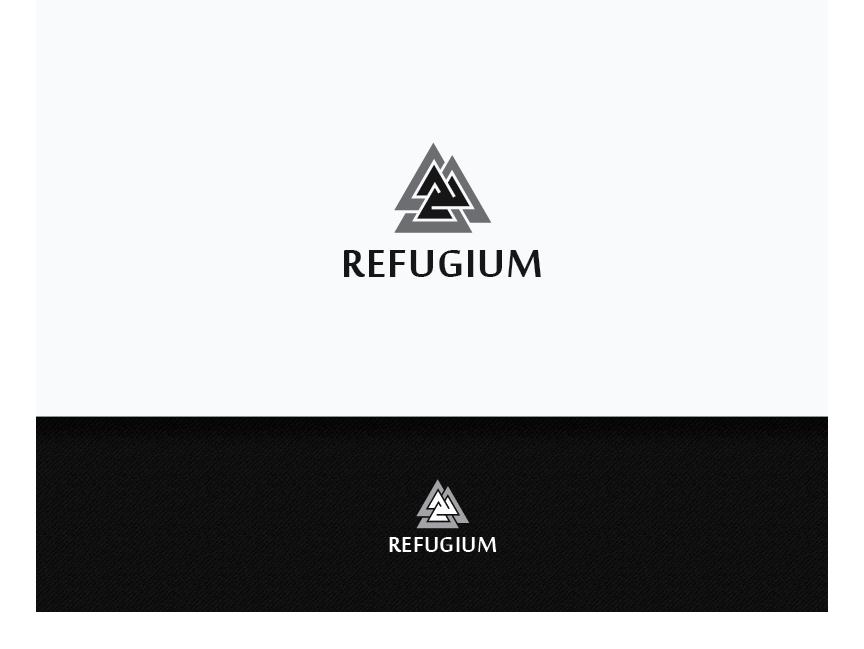 upmarket bold clothing logo design for refugium by jaime sp
