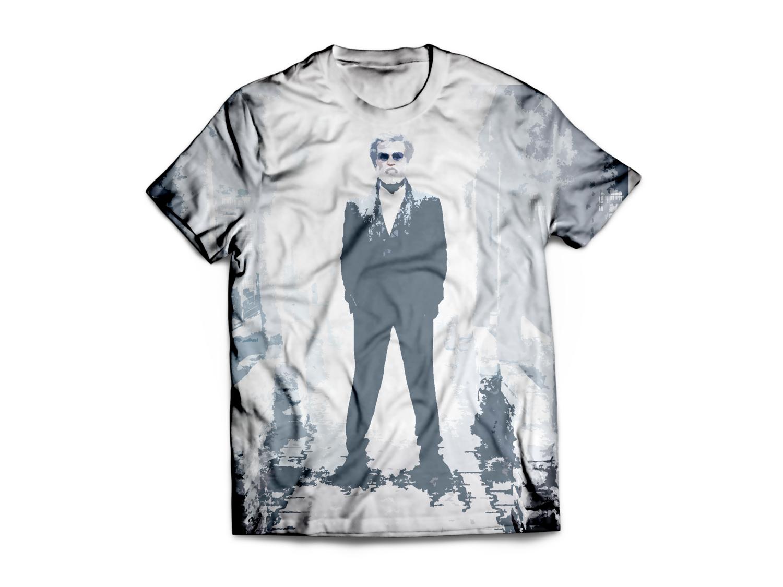 Elegant Serious Online T Shirt Design For D Rash Online Services
