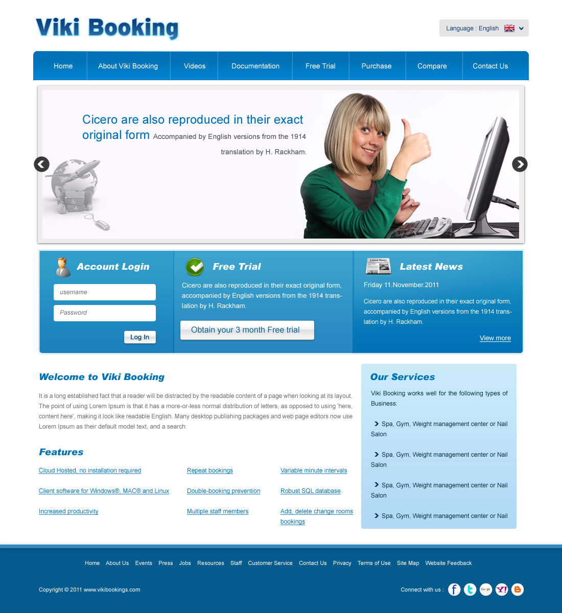 Serious, Professional, Software Web Design for a Company by