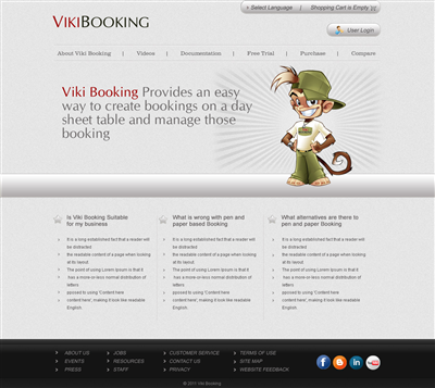 Cafe Web Bidding Website Design 487294