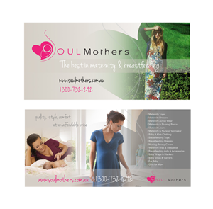 Flyer Design by Purple Hearts  - Soul Mothers, maternity & breastfeeding website...