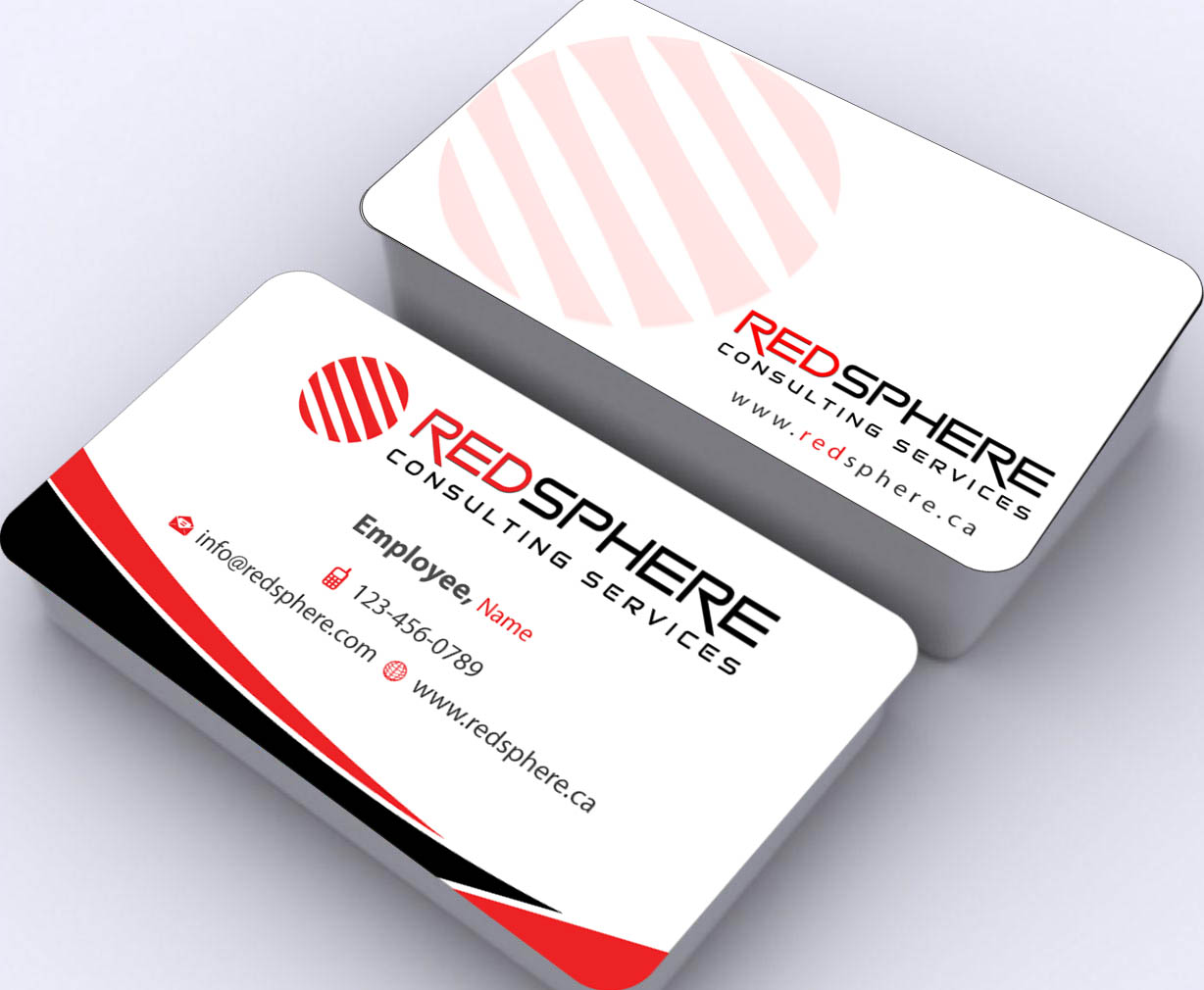 Bold professional business business card design for for Design consultancy services