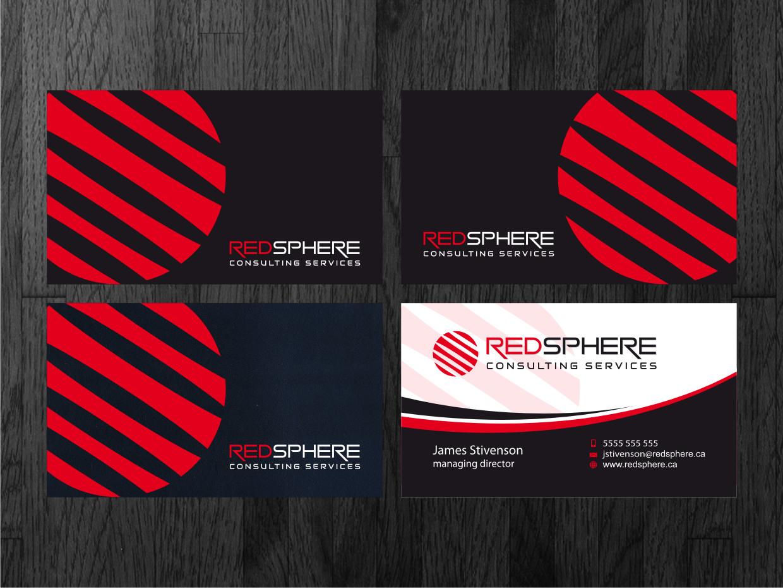 Design de carte de visite audacieux professionnelle for Design consulting services
