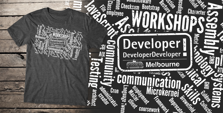 Design t shirt melbourne - T Shirt Design By Db1404 For Ddd Melbourne 2016 It Conference Design