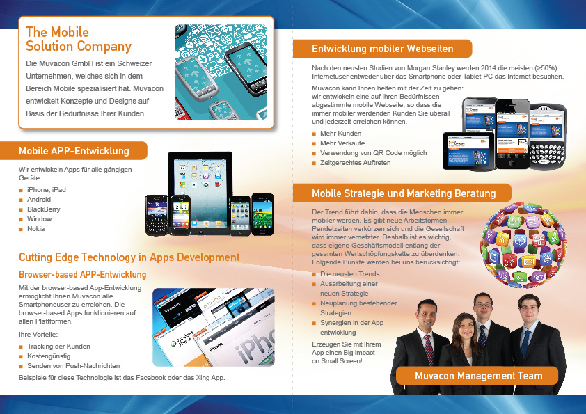 Professional, Modern, Business Brochure Design for a Company
