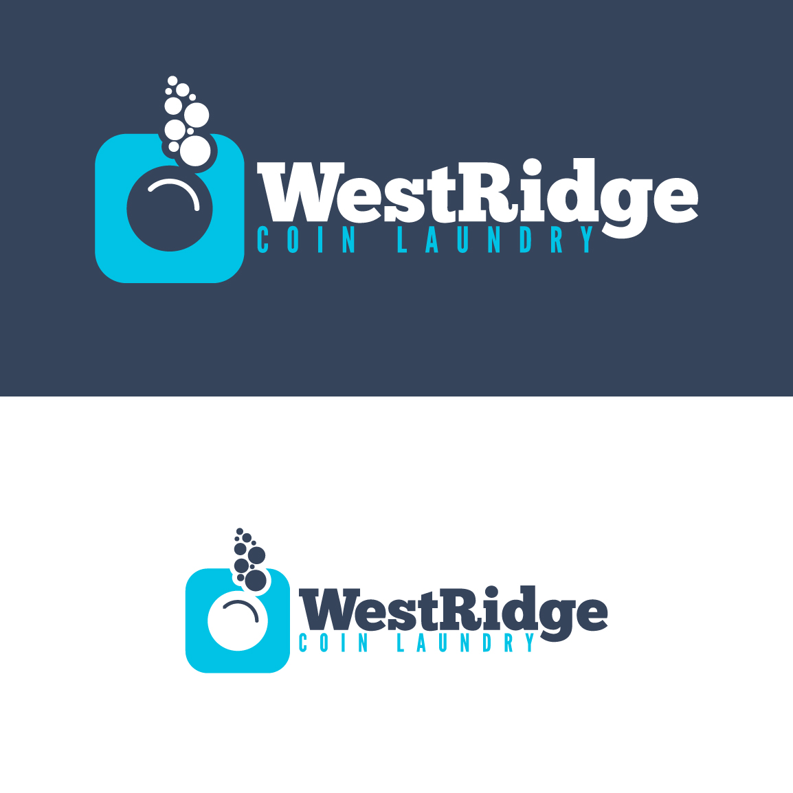 bold playful town logo design for west ridge coin laundry by fanol ademi design 11537464 west ridge coin laundry by fanol ademi