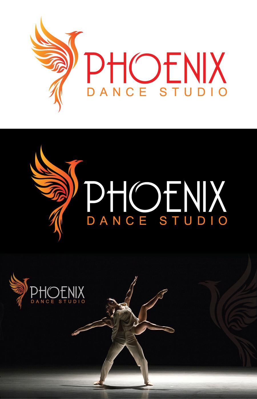Serious Professional Logo Design For Phoenix Dance Studio