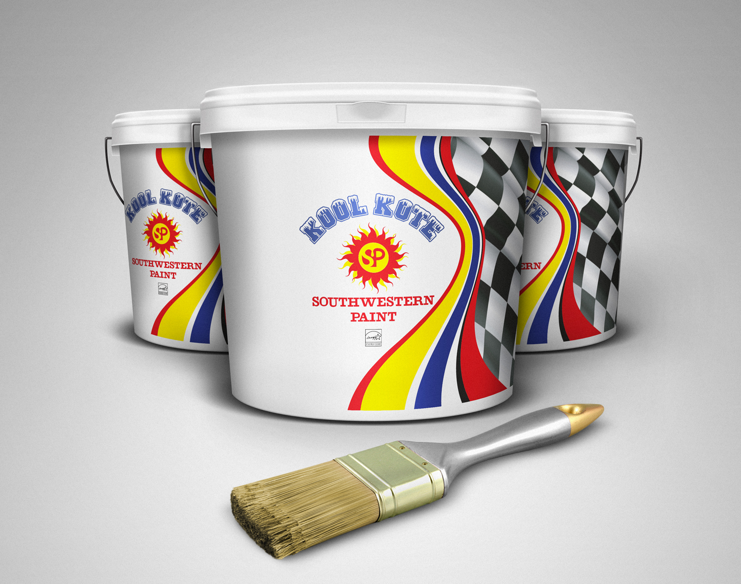 Modern Professional Roofing Packaging Design For Southwestern Paint By Maestroto Design 11558896