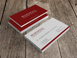 51 upmarket business card designs leadership business card design business card design by hypdesign for marshall consulting pte ltd design reheart Choice Image