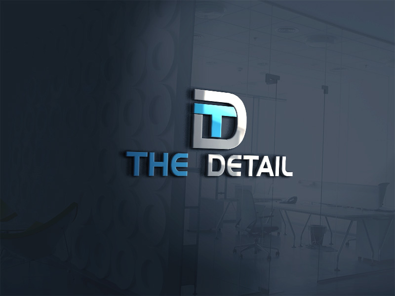 Serious, Modern, Construction Logo Design for The Detail by Rb