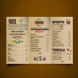 15 playful menu designs hospitality menu design project for a