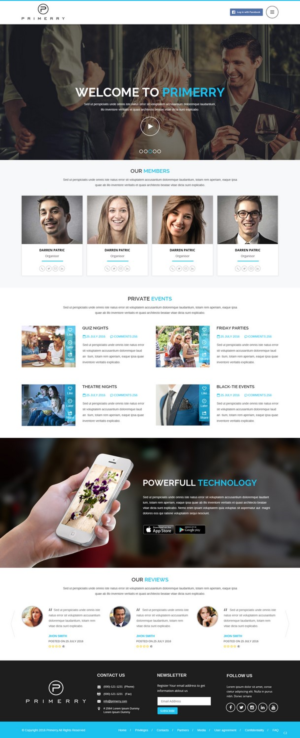 Landing Page Design by pb