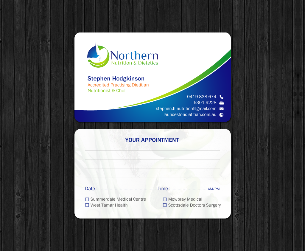 Modern professional healthcare business card design for a company business card design by chandrayaaneative for this project design 11993056 colourmoves
