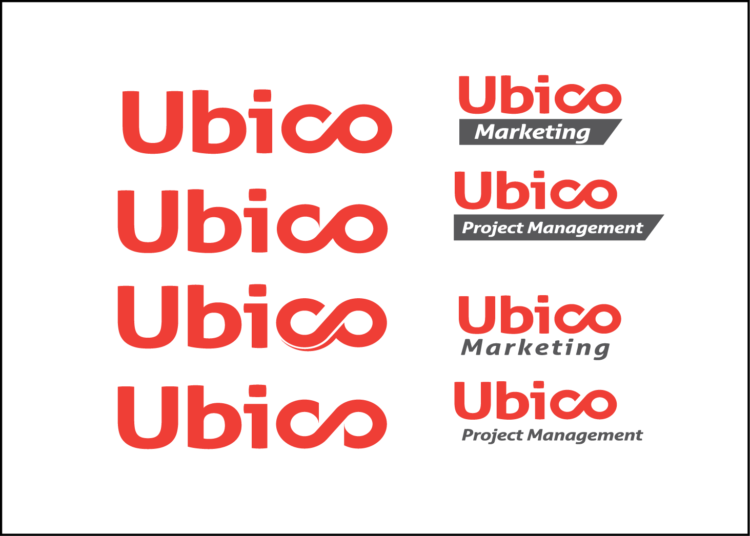 Modern Bold Marketing Logo Design For Ubico By Boink Design 11665390