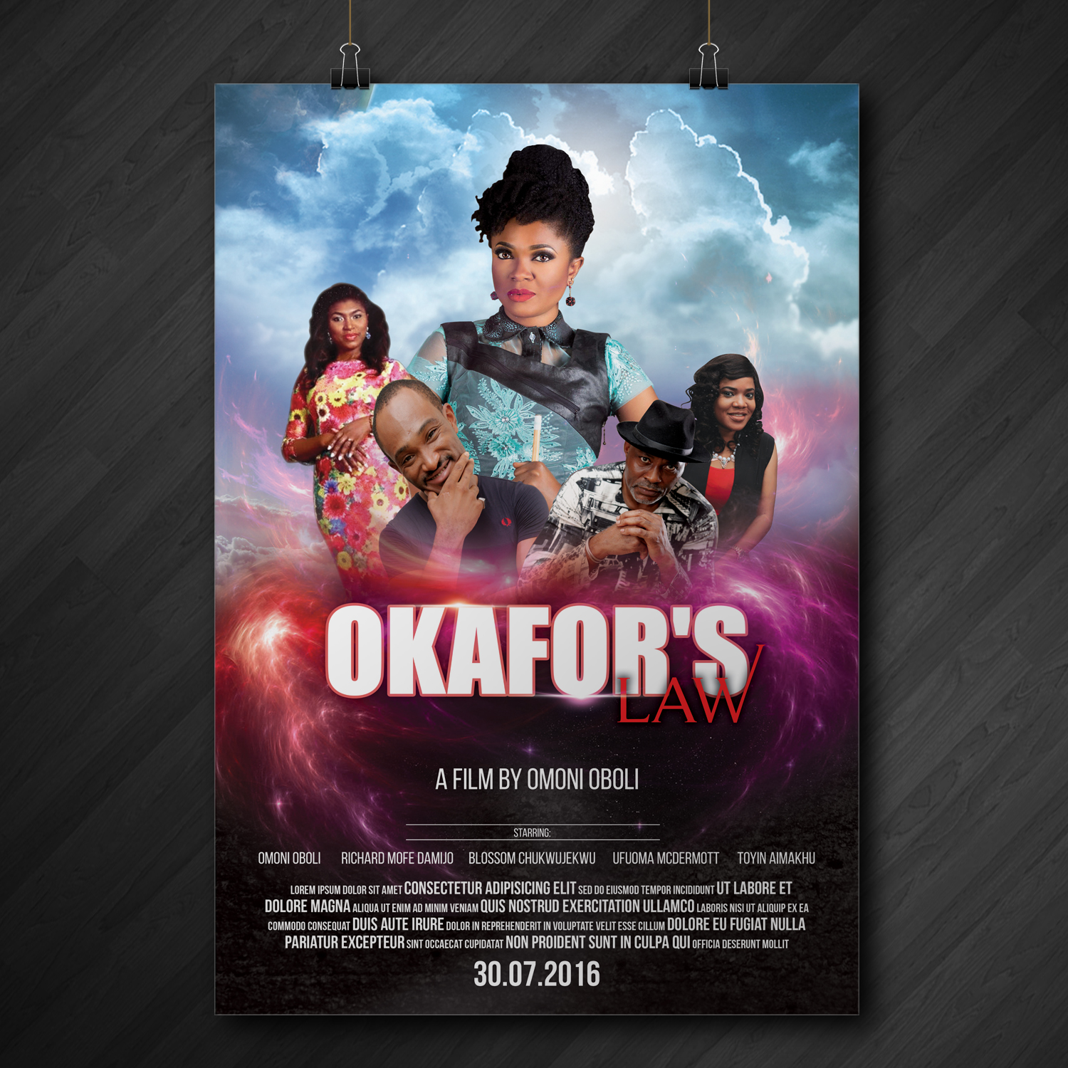 Poster design needed - Poster Design By Kreative Fingers For Movie Poster Design Needed High Quality Hollywood Style