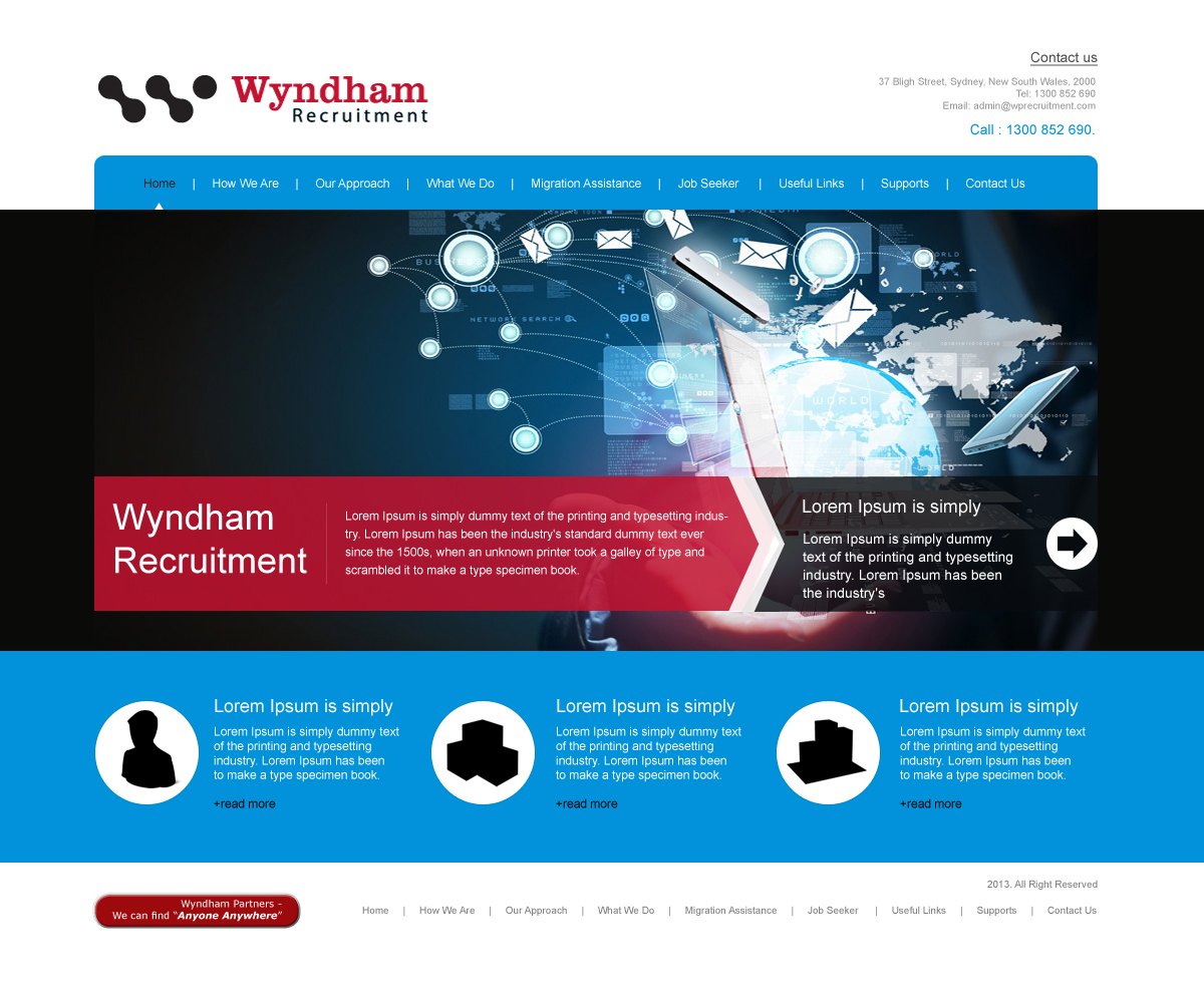 Web Design For A Company By Aarsita Design 2417873