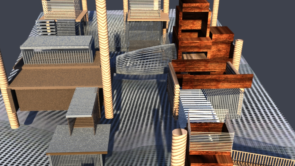 Bold Modern Building 3d Design For A Company By Ts Computer