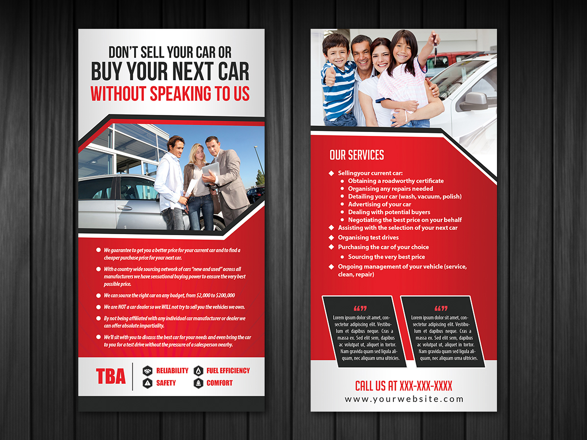 professional upmarket business flyer design for a company by