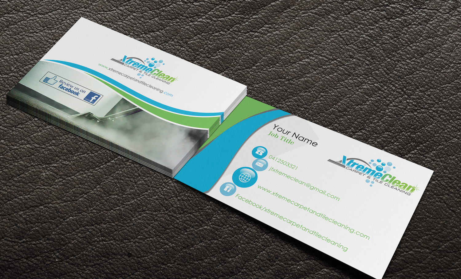 Modern, Personable, Business Business Card Design for Xtreme Carpet ...