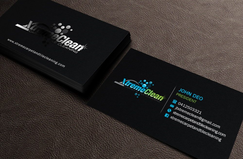 modern  personable  business business card design for