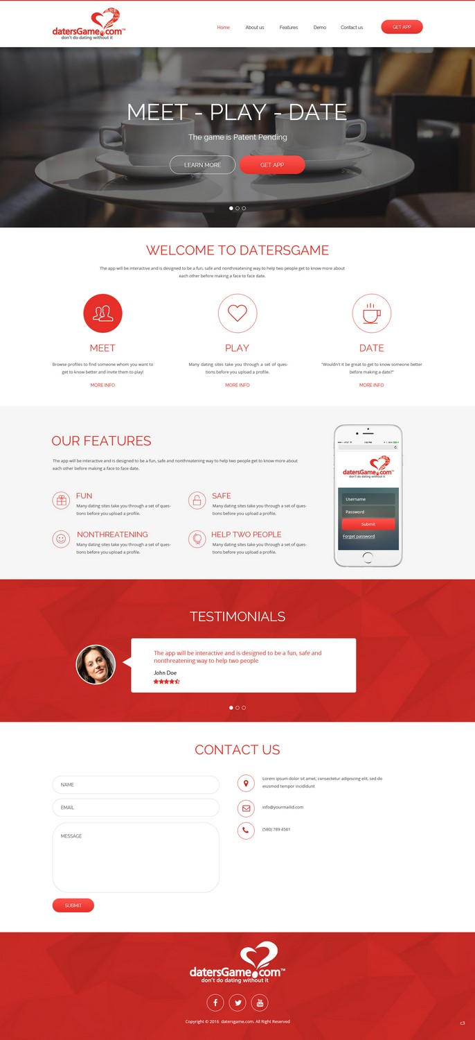 dating web design Offers professional dating website design and development services dating website design and development suggests an attractive front end design and a professional backend programming.