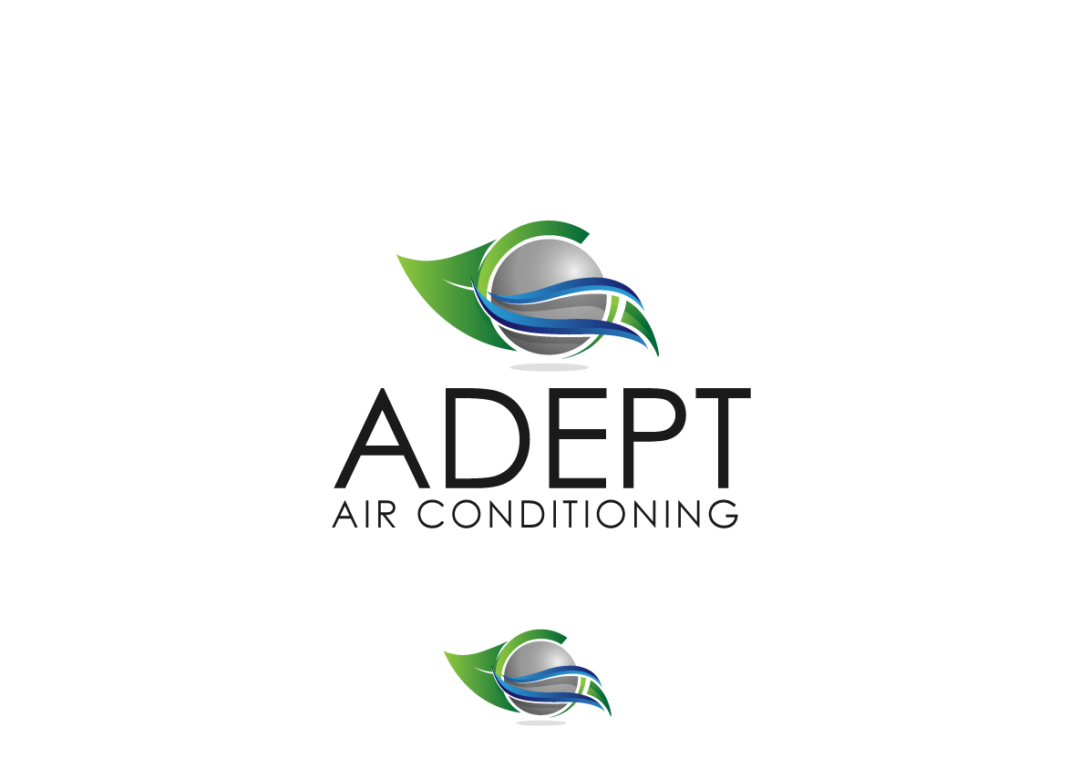 Serious, Modern, Air Conditioning Logo Design for ADEPT Air