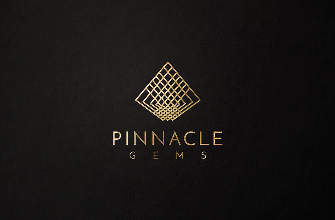 Pinnacle Gems Logo Design by GLDesigns for a Precious Gemstone Wholesaler