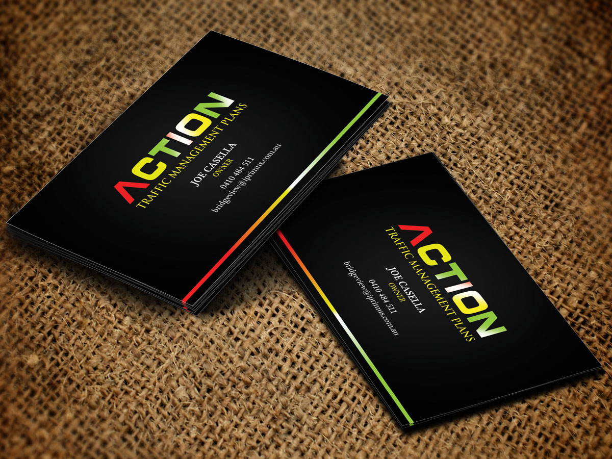 Masculine, Modern, Builders Business Card Design for a Company by