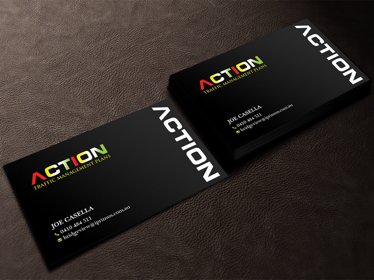 Masculine, Modern, Builders Business Card Design for a