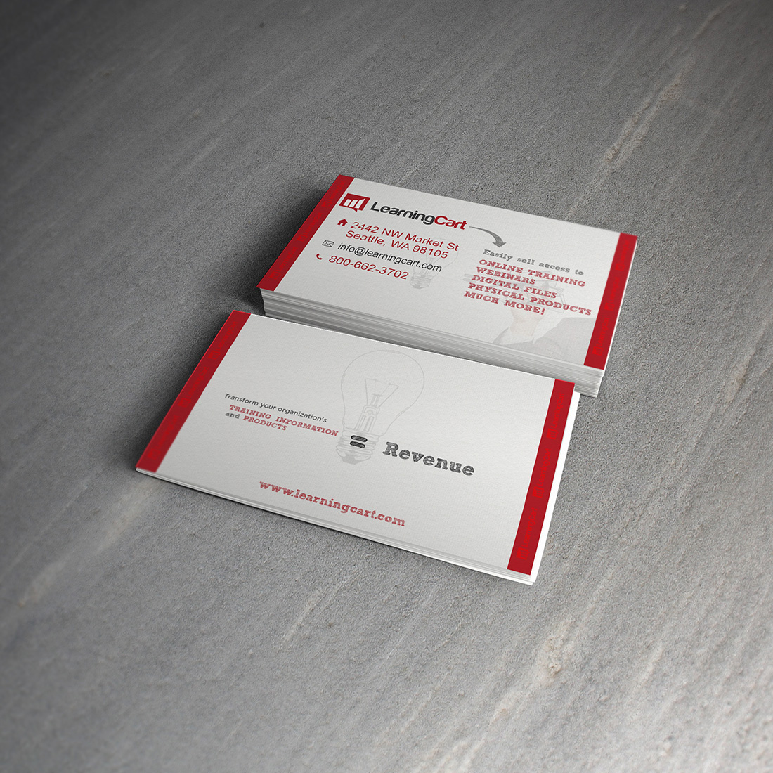 Modern, Professional, Software Business Card Design for Big Step ...