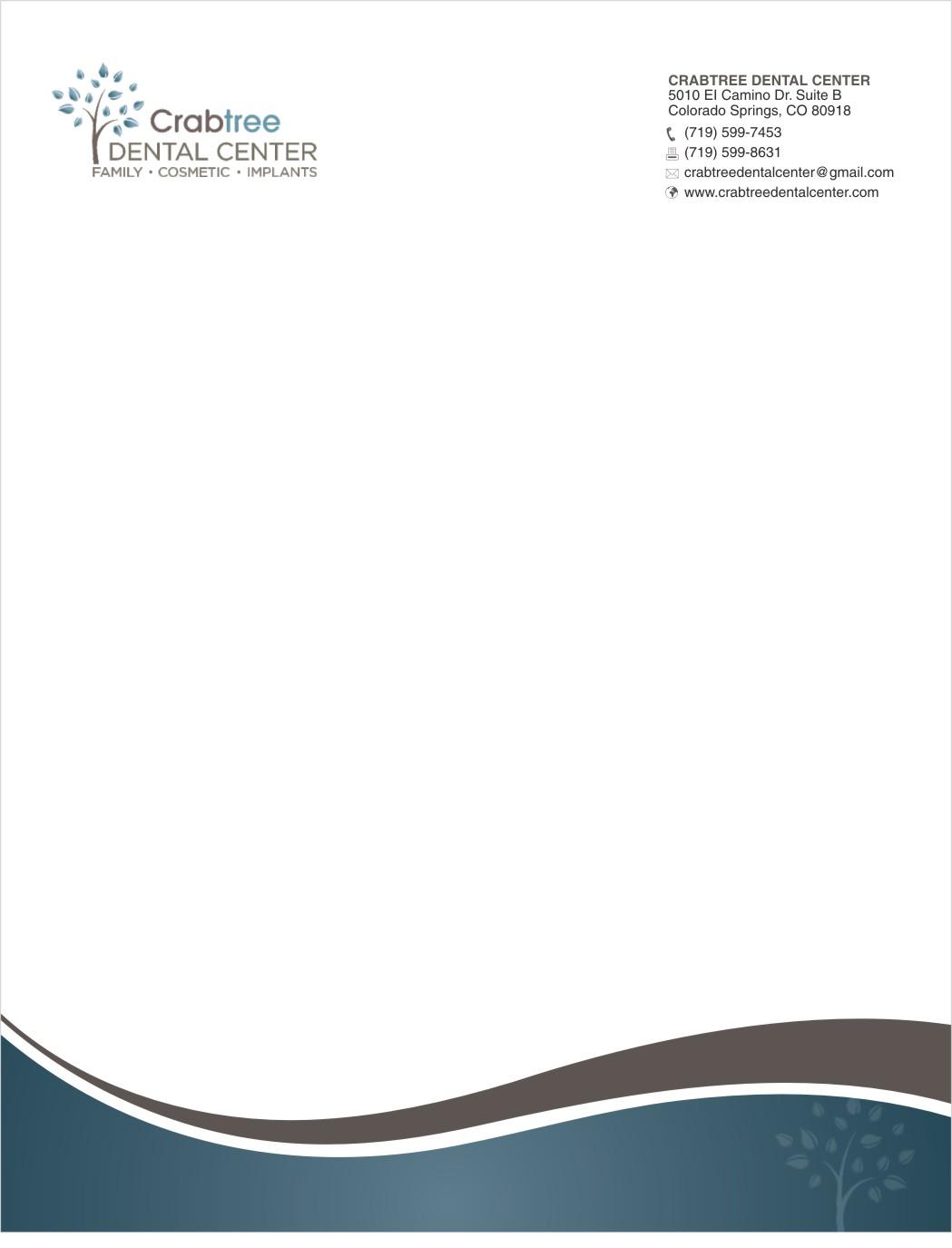 Elegant, Playful Letterhead Design for David Crabtree by sanjeev ...