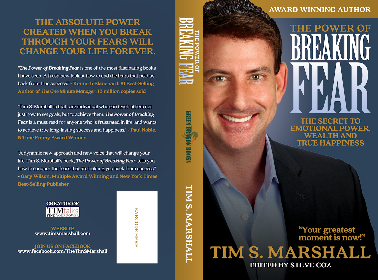 Bold, Masculine Book Cover Design for a Company by Wonder