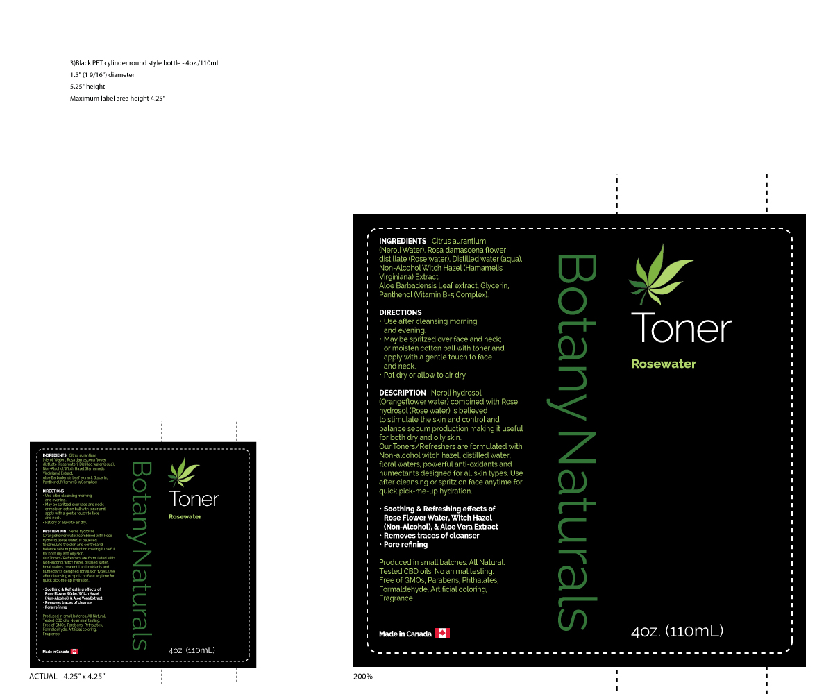 Modern, Professional, It Company Label Design for Botany