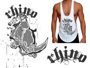 T-shirt Design job – Body Building T-shirt Design – Winning design by Summit Creative