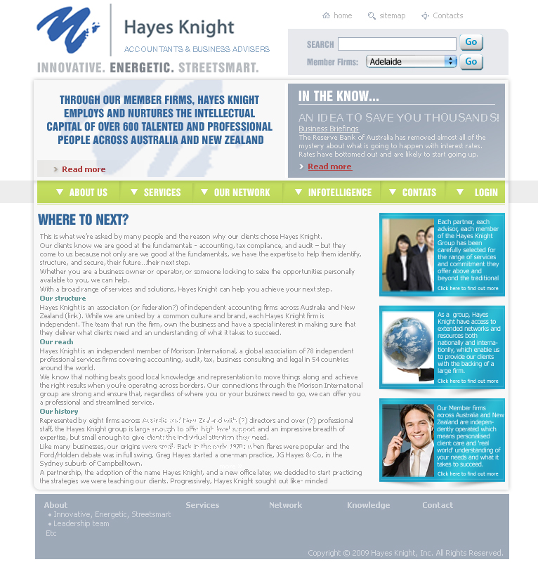 Web design for hayes knight by urban ad design 26504 for Best discount designer websites