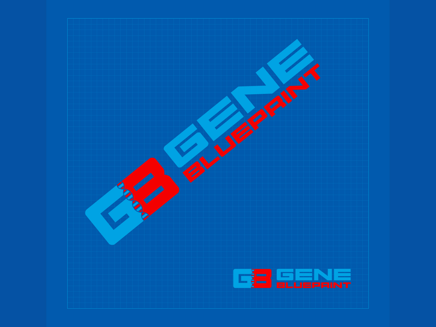 Serious upmarket health and wellness logo design for gene logo design by kv for gene blueprint design 11921188 malvernweather Choice Image