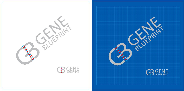 Serious upmarket health and wellness logo design for gene logo design by kv for gene blueprint design 11933276 malvernweather Image collections
