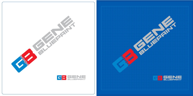 Serious upmarket health and wellness logo design for gene logo design by kv for gene blueprint design 11933279 malvernweather Image collections