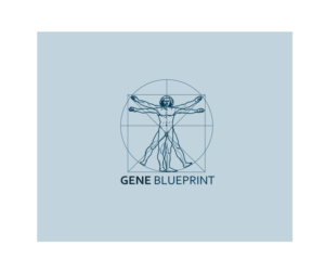 serious upmarket health and wellness logo design for gene